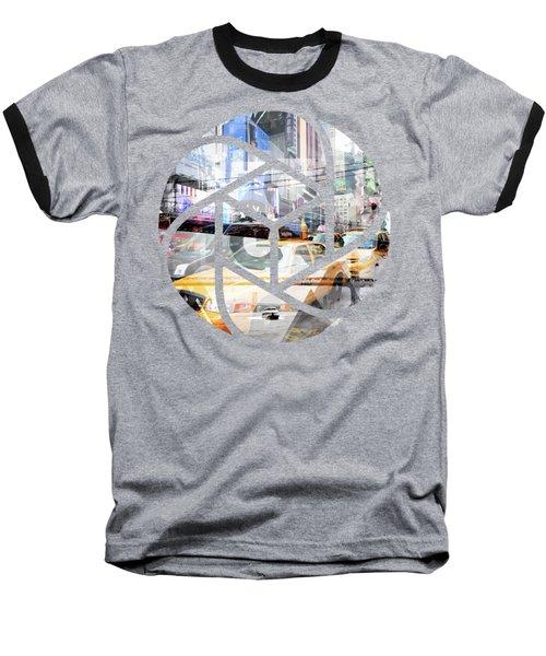 Trendy Design Nyc Geometric Mix No 9 Baseball T-Shirt