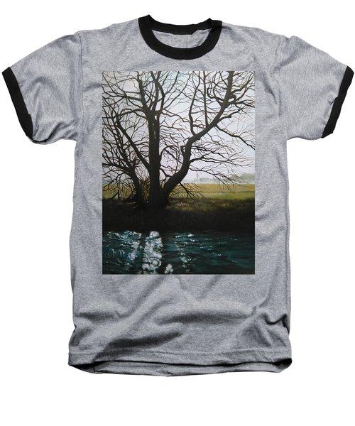 Trent Side Tree. Baseball T-Shirt