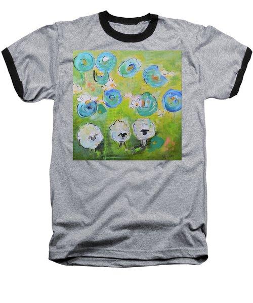 Tres Sheep Baseball T-Shirt