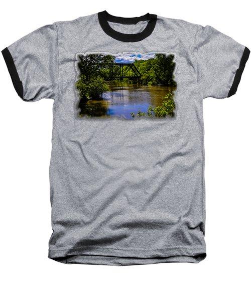 Trestle Over River Baseball T-Shirt