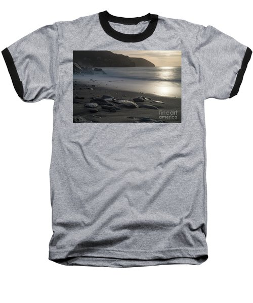 Baseball T-Shirt featuring the photograph Photographs Of Cornwall Trevellas Cove Cornwall by Brian Roscorla