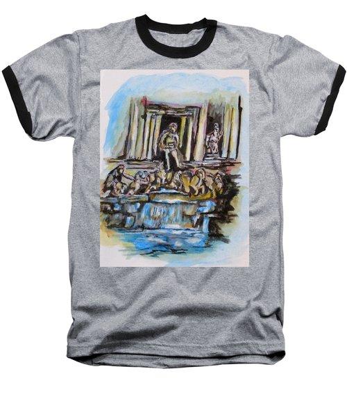 Trevi Fountain, Rome Baseball T-Shirt