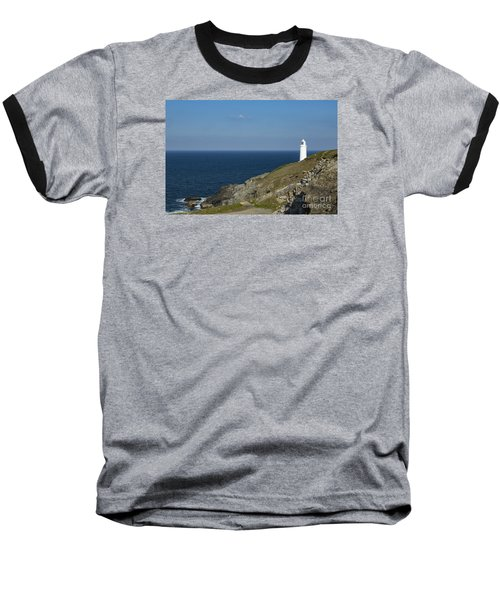 Trevose Head Lighthouse Baseball T-Shirt