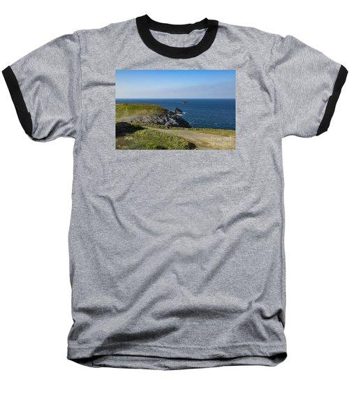 Trevose Headland Baseball T-Shirt by Brian Roscorla