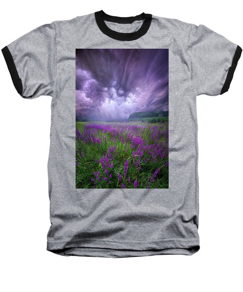 Baseball T-Shirt featuring the photograph Trials And Tribulations by Phil Koch