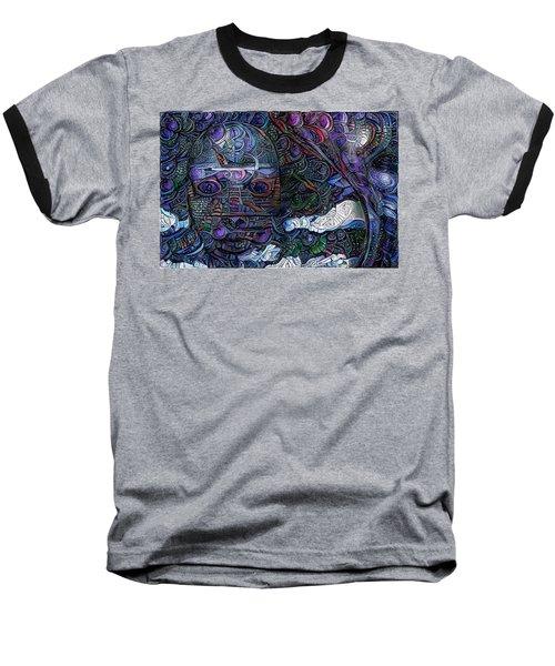Tribal Ornamets Baseball T-Shirt