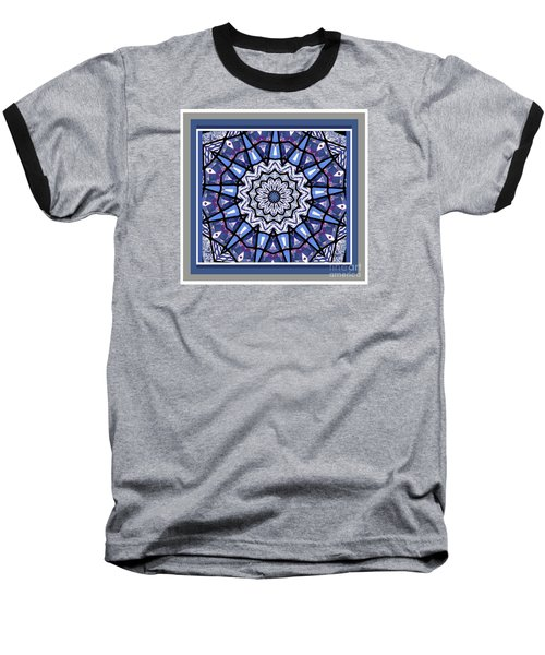 Baseball T-Shirt featuring the photograph Tribal Star by Shirley Moravec