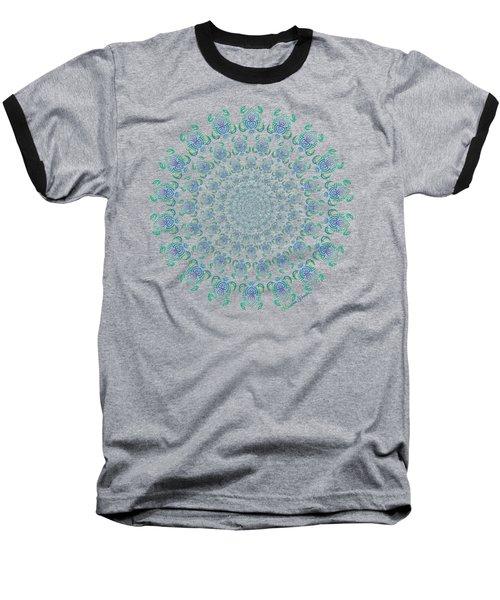 Tribal Turtle Tunnel Baseball T-Shirt