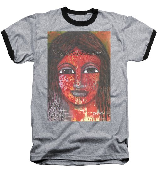 Tribal Woman Baseball T-Shirt