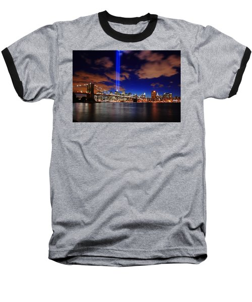 Tribute In Light Baseball T-Shirt