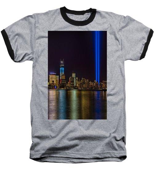 Tribute In Lights Memorial Baseball T-Shirt
