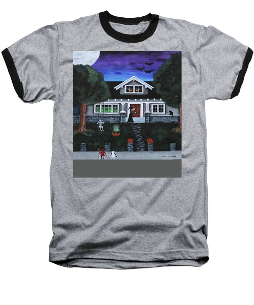 Trick-or-treat Baseball T-Shirt