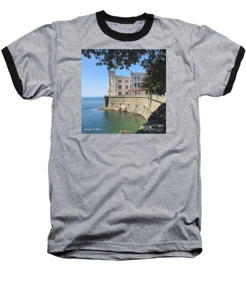 Trieste- Miramare Castle Baseball T-Shirt