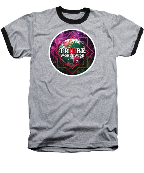 Triiibe Worldwide By Lorcan Baseball T-Shirt
