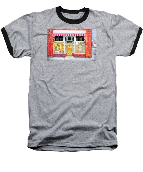 Baseball T-Shirt featuring the photograph Trim Barber Shop by Marion Johnson