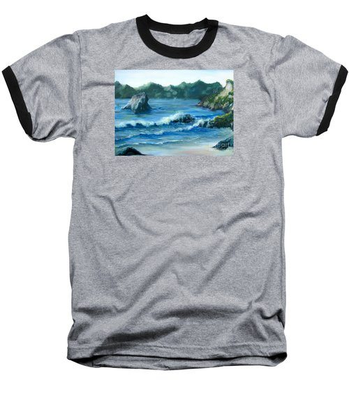 Trinidad Beach Baseball T-Shirt