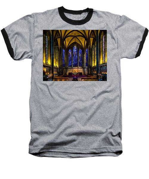 Trinity Chapel Salisbury Cathedral Baseball T-Shirt