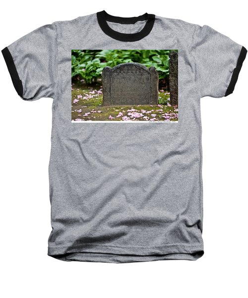 Trinity Church Tombstone Baseball T-Shirt