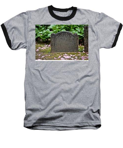 Trinity Church Tombstone Baseball T-Shirt