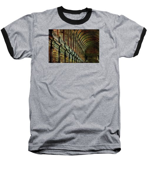 Trinity College Library Baseball T-Shirt