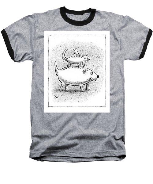 Trio Baseball T-Shirt