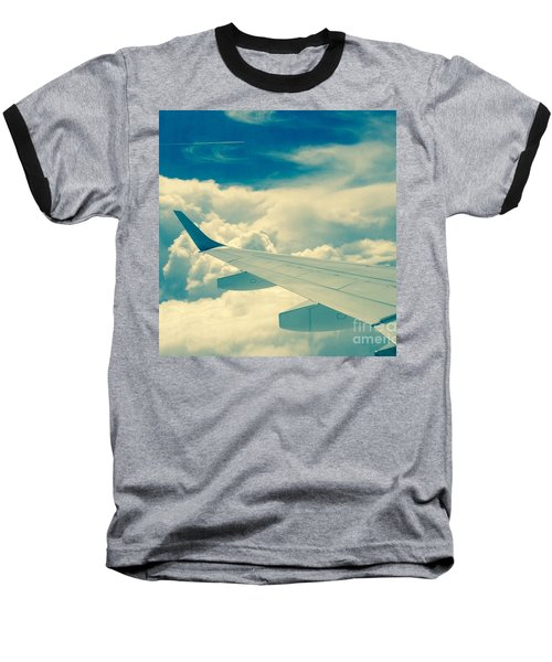 Baseball T-Shirt featuring the photograph Trip To by France Laliberte