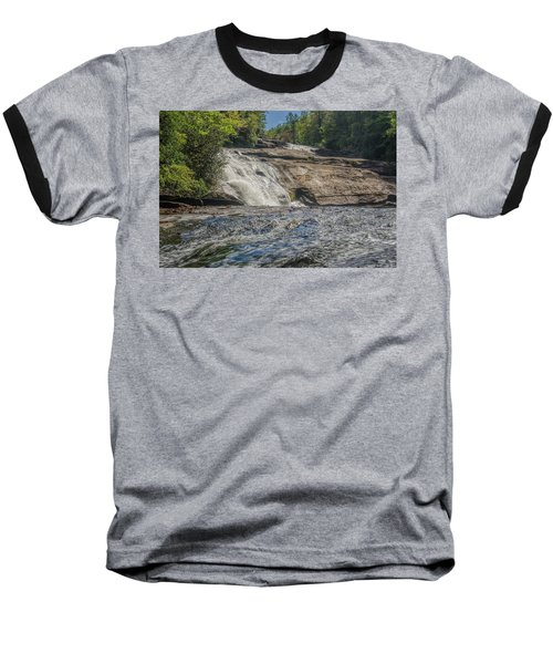 Baseball T-Shirt featuring the photograph Triple Falls Second Tier by Steven Richardson