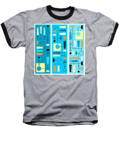 Triple Treat Baseball T-Shirt by Tara Hutton