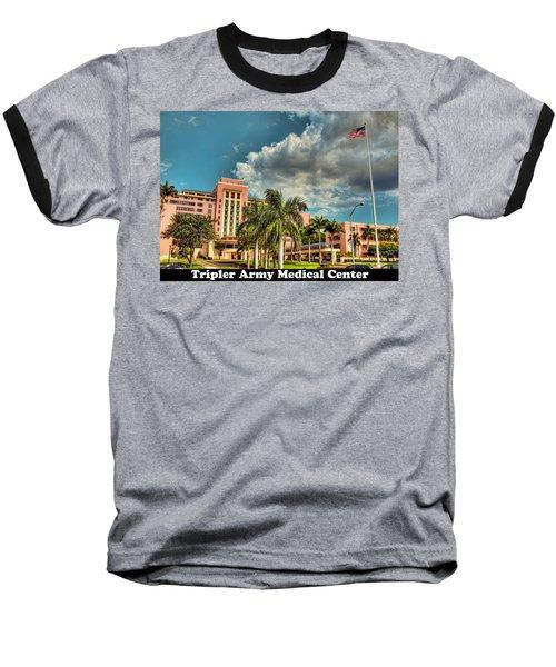 Tripler Card Sample Baseball T-Shirt