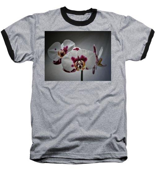 Triplets Baseball T-Shirt by Karen Stahlros