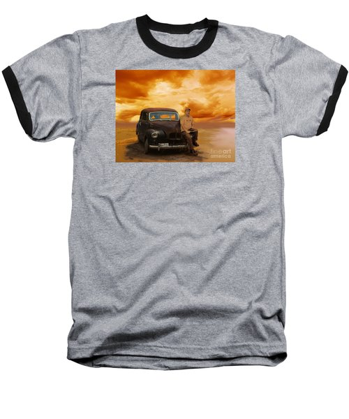 Trippin' With My '48 Austin A40 Baseball T-Shirt