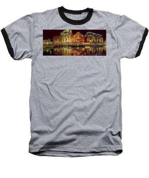 Tripping The Lights - Pano Baseball T-Shirt