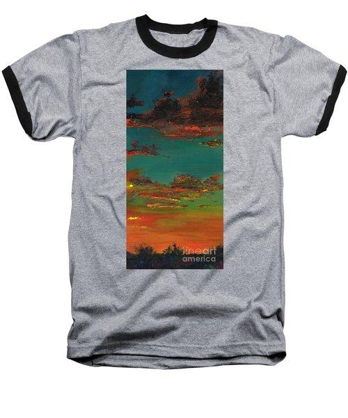 Triptych 3 Baseball T-Shirt