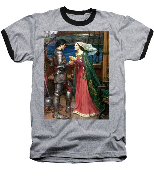 Tristan And Isolde With The Potion Baseball T-Shirt