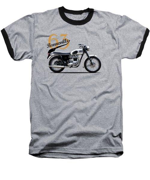 Triumph Bonneville 1963 Baseball T-Shirt