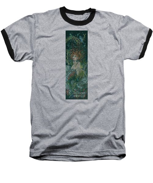 Triumph Escapes Maximilian's Arch Baseball T-Shirt by Dawn Fairies