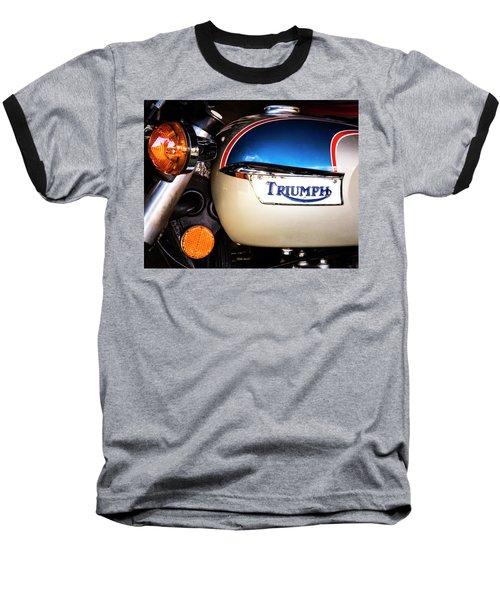 Triumph Motorcyle Baseball T-Shirt
