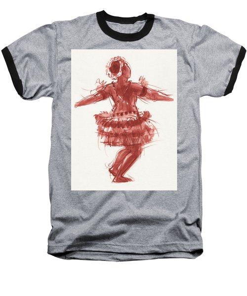 Trobriand Islands Dancer Baseball T-Shirt
