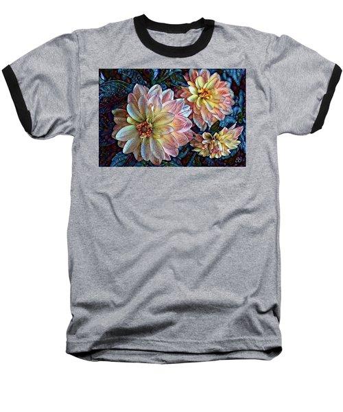 Baseball T-Shirt featuring the photograph Trois by Geri Glavis