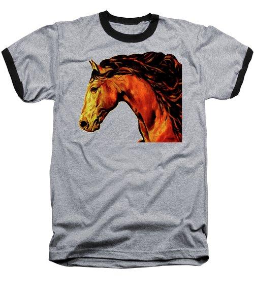 Trojan Baseball T-Shirt by Rafael Salazar