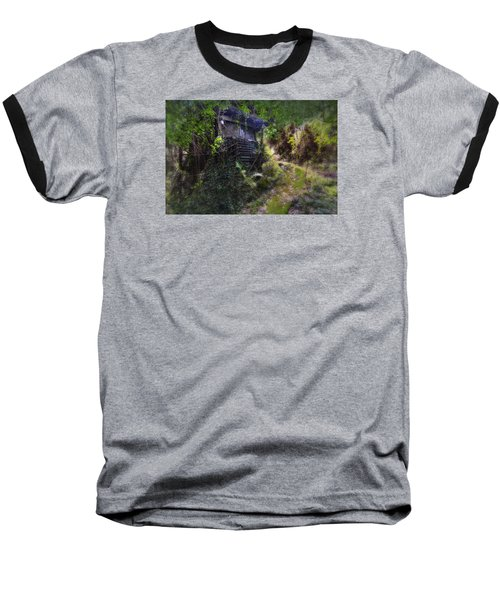 Trolley Bus Into The Jungle Baseball T-Shirt