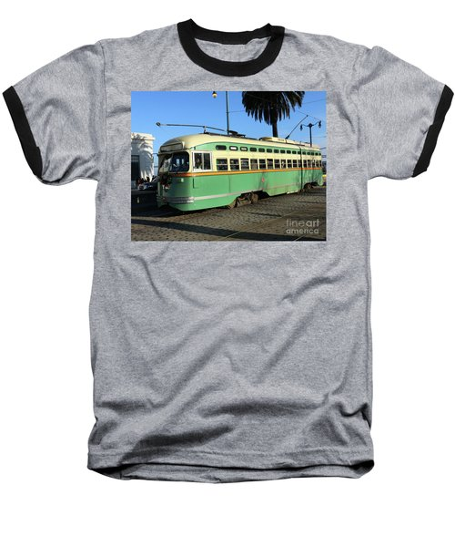 Trolley Number 1058 Baseball T-Shirt