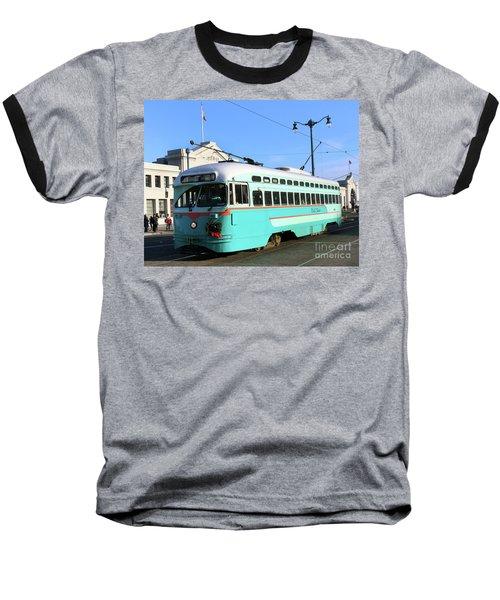 Trolley Number 1076 Baseball T-Shirt