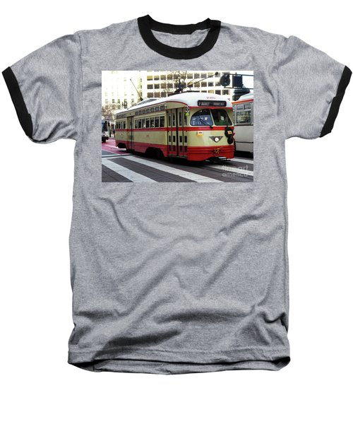 Trolley Number 1079 Baseball T-Shirt