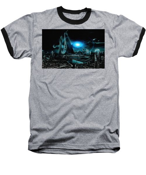 Tron Revisited Baseball T-Shirt