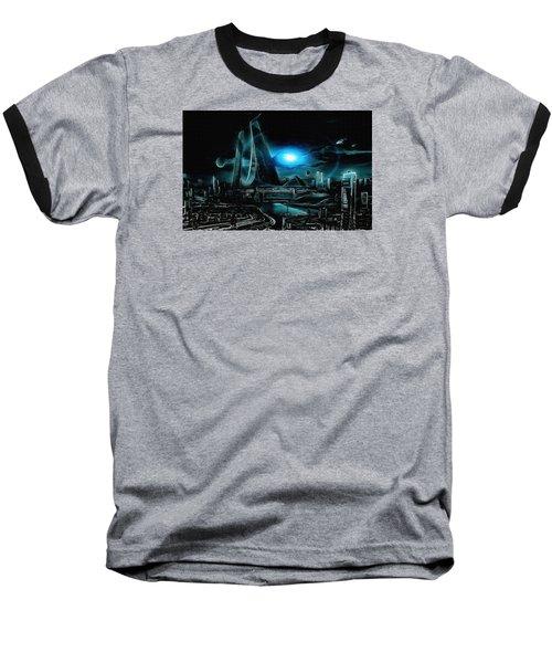 Tron Revisited Baseball T-Shirt