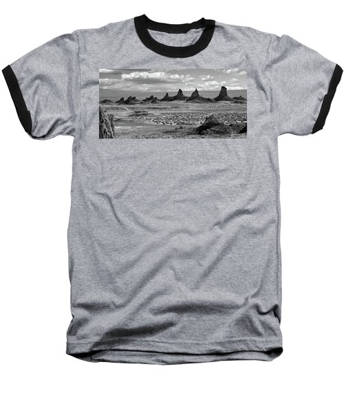 Trona Pinnacles Peaks Baseball T-Shirt