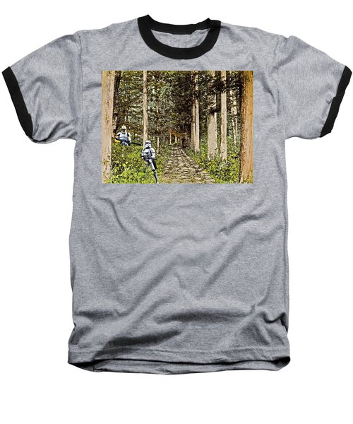 Troopers On The Planet Baseball T-Shirt
