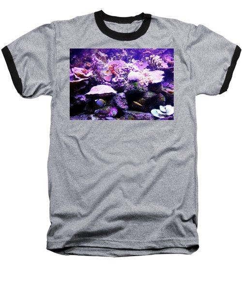 Baseball T-Shirt featuring the photograph Tropical Aquarium by Francesca Mackenney