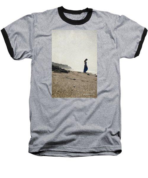 Tropical Beach Baseball T-Shirt